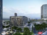 Phối cảnh khu công viên phần mềm, nơi phát triển ngành kinh tế số ở TP Đà Nẵng