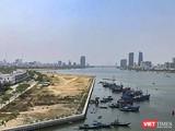 Một góc TP Đà Nẵng nhìn từ cửa sông Hàn