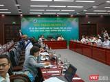 Ông Nguyễn Văn Quảng - Bí thư Thành ủy Đà Nẵng phát biểu tại Hội thảo chuyên gia về Đề án chuyển đổi số TP Đà Nẵng đến năm 2025, định hướng đến năm 2030 vừa diễn ra chiều ngày 22/3.