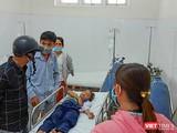 Một trường hợp học sinh trường Tiểu học Hòa Khương 1 bị ngộ độc phải nhập viện cấp cứu.