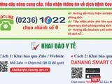 Tổng đài 1022 Đà Nẵng hỗ trợ người dân khai báo y tế và tiếp nhận thông tin phòng chống dịch COVID-19