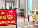 Khu vực điều trị bệnh nhân mắc COVID-19 tại Trung tâm Y tế huyện Bình Sơn (Quảng Ngãi)