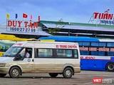Một góc Bến xe trung tâm Quảng Ngãi