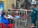 Khu vực cách ly bệnh nhân mắc COVID-19 liên quan đến Công ty CP Nhựa Duy Tân ở Đà Nẵng