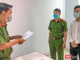Cơ quan CSĐT Công an TP Đà Nẵng tống đạt quyết định khởi tố bị can đối với giám đốc Công ty TNHH quốc tế AMIDA