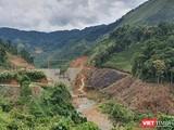 Một thuỷ điện nhỏ trên địa bàn tỉnh Quang Nam đang được xây dựng