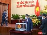 Đại biểu HĐND TP Đà Nẵng bỏ phiếu bầu nhân sự nhiệm kỳ 2021-2026