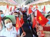 Đoàn y bác sĩ Bệnh viện Đa khoa Trung ương Quảng Nam lên đường hỗ trợ TP HCM chống dịch COVID-19