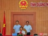 Ông Lê Trí Thanh - Chủ tịch UBND tỉnh Quảng Nam tại buổi lễ ký kết hợp tác với FPT về thúc đẩy chuyển đổi số trên địa bàn trong giai đoạn 2021 - 2025