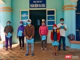 Các bệnh nhân mắc COVID-19 tại Quảng Ngãi được điều trị khỏi bệnh xuất viện trong sáng ngày 15/7