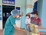 Bệnh nhân nhi 2 tuổi BN15936 tại buổi xuất viện