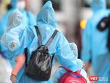 Sáng ngày 21/7, 218 người trong số 626 người dân Đà Nẵng ở TP HCM có nguyện vọng đã trở về Đà Nẵng an toàn