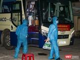 Sáng 23/7, đoàn xe chở công dân Quảng Nam từ TP HCM về quê đã trở về đến Quảng Nam