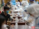 Lực lượng y tế tầm soát đối với các đối tượng tiêm vaccine COVID-19 trên địa bàn