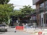 Một khu vực phong toả, cách ly y tế trên địa bàn TP Đà Nẵng