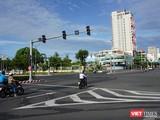 Đường phố Đà Nẵng trong thời gian giãn cách tuyệt đối toàn TP