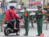 Sáng ngày 23/8, lực lượng kiểm soát quân sự đã có mặt tại các chốt kiểm soát trên địa bàn TP HCM để làm nhiệm vụ