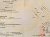 Giấy chứng nhận quyền sử dụng đất được UBND tỉnh Quảng Nam cấp cho Công ty TNHH Chí Thành đã bị huỷ