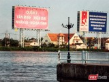 Quận 2, TP.HCM, từng được quy hoạch thành khu đô thị hiện đại, là trung tâm tài chính phố Đông sông Sài Gòn, với tên Khu đô thị mới Thủ Thiêm. Ảnh: Mai Kỳ.