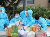 Dù đã trải qua hơn 100 ngày giãn cách nhưng TP.HCM vẫn phát hiện hàng ngàn ca nhiễm mới mỗi ngày. Ảnh chụp tại khu cách ly bệnh viện dã chiến ở TP.Thủ Đức. Ảnh: GVT.