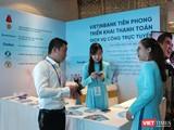 Gian hàng giới thiệu giải pháp của VietinBank