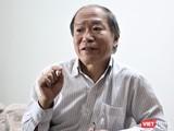 Ông Đào Nhật Đình, một chuyên gia về môi trường