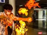 """Thí nghiệm """"Fire hand"""" tại sự kiện"""