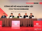 Techcombank sẽ chào sàn HoSE vào ngày 04/06/2018 với giá tham chiều 128.000 đồng/cổ phiếu TCB. (Ảnh: TCB)