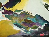 """Bức tranh trừu tượng đắt nhất trong lịch sử mỹ thuật Việt Nam, có tên """"Cất cánh"""", được họa sĩ Tạ Tỵ vẽ năm 1972"""