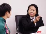 Luật sư Trần Thị Ngọc Nữ, một trong số các luật sư của Hội bảo vệ Quyền trẻ em TP.HCM được phân công bảo vệ em bé trong vụ án