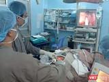 Ca phẫu thuật nội soi cắt u tuyến giáp qua ngả miệng tại BV Ung bướu TP.HCM