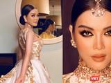 """Lý Nhã Kỳ khác lạ, hóa thành """"công chúa"""" với phục trang Ấn Độ"""