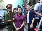 Bị cáo Nguyễn Minh Hùng đến tòa sáng 24/9