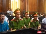 Bị cáo Nguyễn Minh Hùng, Võ Mạnh Cường, Bùi Ngọc Duy, Phạm Anh Kiệt – các đối tượng bị đề xuất mức phạt tù cao nhất trong vụ VN Pharma