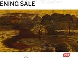 Bức tranh đề tên danh họa Nguyễn Gia Trí đã thất bại trong phiên đấu giá tối 5/10