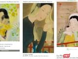 Các bức tranh đề tên danh họa Lê Phổ bán ra ồ ạt với tỷ lệ giao dịch thành công rất cao