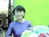 Nhà văn Trần Thùy Mai trong chuyến về TP.HCM giao lưu với độc giả mới đây