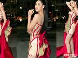 Hoa hậu Khánh Vân bộ trang phục đặc biệt của NTK Nguyễn Tiến Truyển