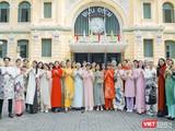 Dàn thí sinh nổi bật của Next Top Model trong áo dài xuân rực rỡ, vui nhộn