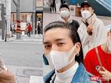 BB Trần trở về từ Hàn Quốc đã tự động cách ly tại nhà để không mang lại nguy cơ cho cộng đồng (Ảnh: FBNV)
