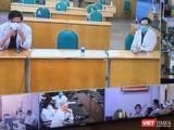 BV Bệnh Nhiệt đới TP.HCM đã tham gia lần 2 Hội chẩn cấp quốc gia điều trị bệnh nhân nặng COVID-19 (Ảnh: TTKT)