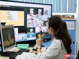 Cô trò Trường Vstar School học online trong thời gian dịch bệnh COVID-19 (Ảnh: Vstar School)