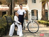 """Hai mẫu nhí Gia Huy, Thiên Nga """"đốn tim"""" người xem với bộ ảnh """"Tuổi học trò"""" (Ảnh: Lý Võ Phú Hưng)"""