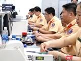 Điểm đăng ký xe tại 282 Nơ Trang Long, quận Bình Thạnh, TP.HCM (Ảnh: Hải Linh)