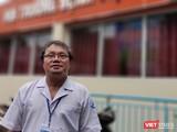 BS Trương Hữu Khanh, trưởng khoa Nhiễm Thần kinh (BV Nhi Đồng 1) khẳng định lý do xét nghiệm gộp COVID-19 khả thi (Ảnh: Hòa Bình)