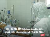 BS Trần Thanh Linh cho biết BN416 phụ thuộc hoàn toàn vào ECMO, máy thở, phổi xơ hóa, tiên lượng nặng (Ảnh: HB)
