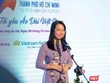 Bà Nguyễn Thị Ánh Hoa, tân Giám đốc Sở Du lịch TP.HCM (Ảnh: HB)