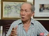 """Hoạ sĩ Ngọc Linh sẽ khai mạc triển lãm """"90 mùa Xuân"""", mừng sinh nhật tuổi 90 vào chiều mai, 30/10 (Ảnh: MT)"""