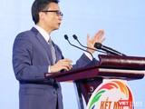 Phó Thủ tướng Vũ Đức Đam phát biểu chỉ đạo tại hội nghị liên kết phát triển du lịch sáng nay 20/11 (Ảnh: SDL)