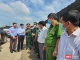 Bộ trưởng Bộ Y tế Nguyễn Thanh Long vừa ghé thăm và làm việc với Lãnh đạo tỉnh Tây Ninh về công tác y tế và phòng, chống dịch COVID-19 (Ảnh: BYT)
